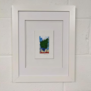 "16x20 Acrylic on Cardboard ""Paintbrush"""