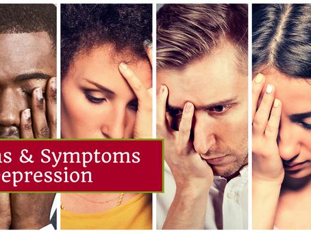 Signs & Symptoms of Depression