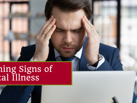 Recognizing The Warning Signs Of Mental Illness