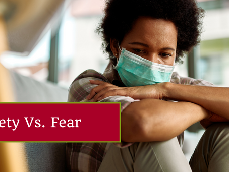 The Difference Between Fear and Anxiety