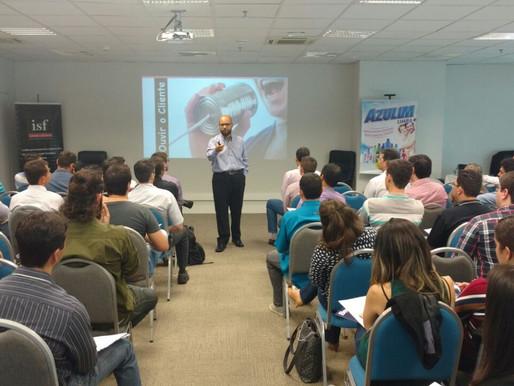 Palestra sobre inovação em Tecnologia, Garage Criativa em Uberlândia