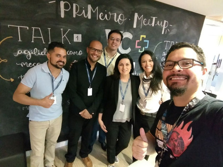 1o. Meetup VC+, Agilidade como fio condutor da transformação ágil