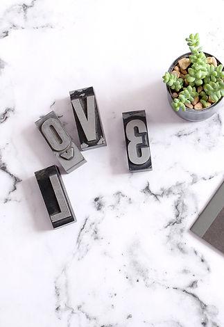 LOVE Letter Stamps