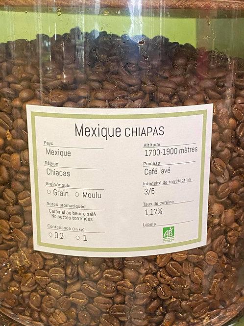 Mexique Chiapas Bio