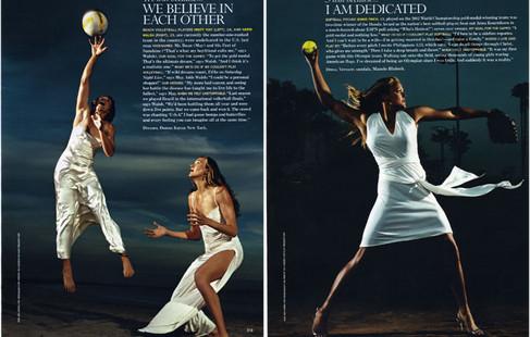 Female Olympic Athletes - Glamour
