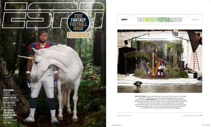 Arian Foster - ESPN The Magazine
