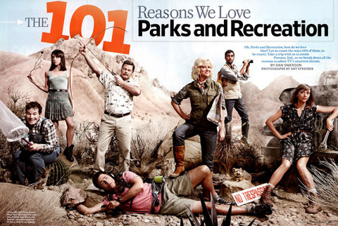Parks and Recreation - Entertainment Weekly
