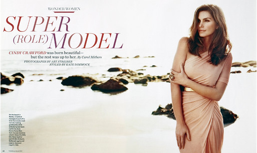 Cindy Crawford - Town & Country