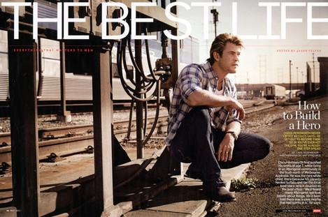 Chris Hemsworth - Men's Health