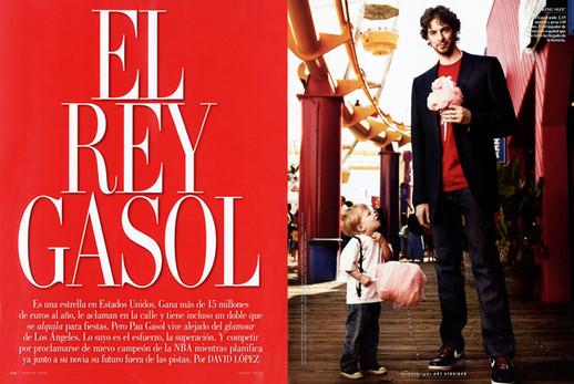 Pau Gasol - Vanity Fair - Spain