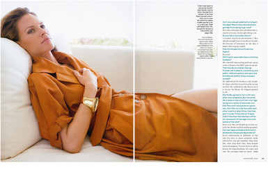 Hillary Swank - Town & Country