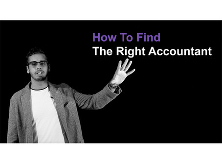 How To Find The Right Accountant