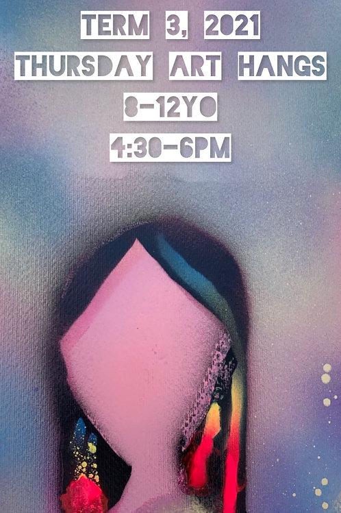 8 yo + art classes Thursday Onsite | 9 Sessions