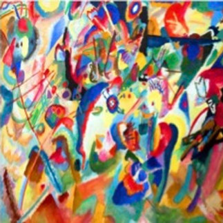 Mon 28/9 MUSIC AND ART JAMS WITH KANDINSKY! Price per household.