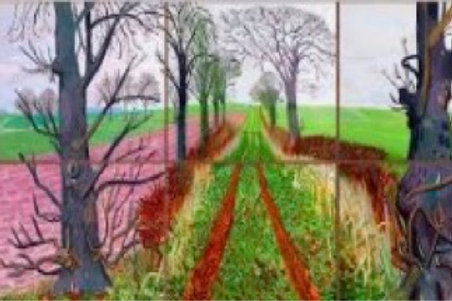 Tue 29/9 HANGING WITH DAVID HOCKNEY! Price per household.