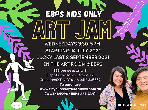 EBPS KIDS ONLY : Wednesday   9 Sessions
