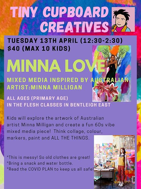 Tue 13/04 Minna Love Primary School Age
