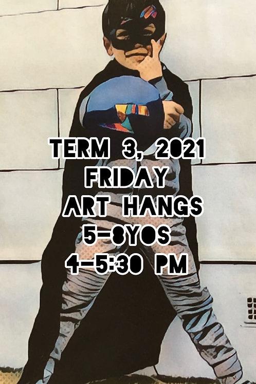 4-7 yo art classes Friday Onsite   8 Sessions