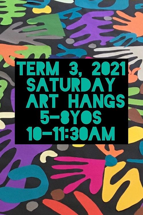 4-7 yo art classes Saturday Onsite | 8 Sessions