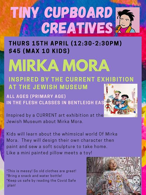 Thu 15/04 Mirka Mora Primary School Age