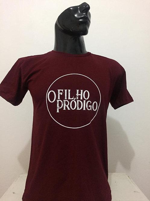 """Camiseta espetáculo """"O Filho Pródigo"""" Vinho"""