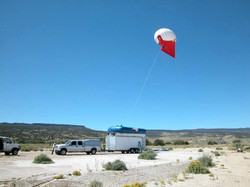 Balloon based wireless
