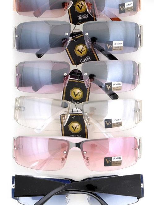 Y2K rimless sunglasses