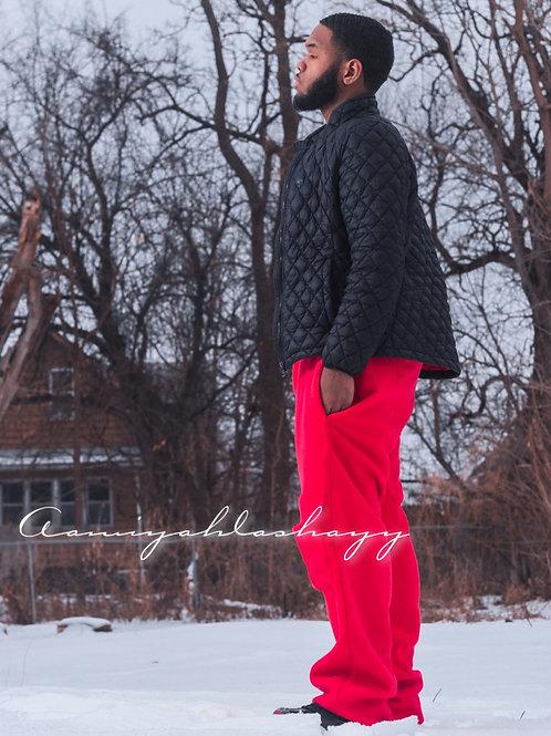 Red Cargo Fleece