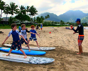 Kauai Concierge Surfing