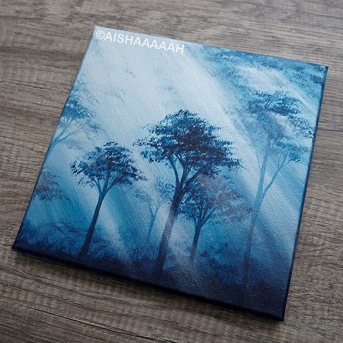 Silver Blue Forest