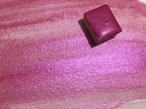 Hot Pink - Half Pan Mica Watercolor