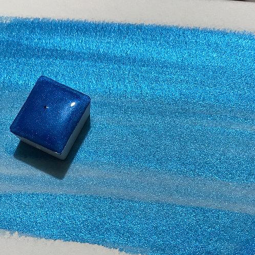 Dreamy Azure - Half Pan Mica Watercolor