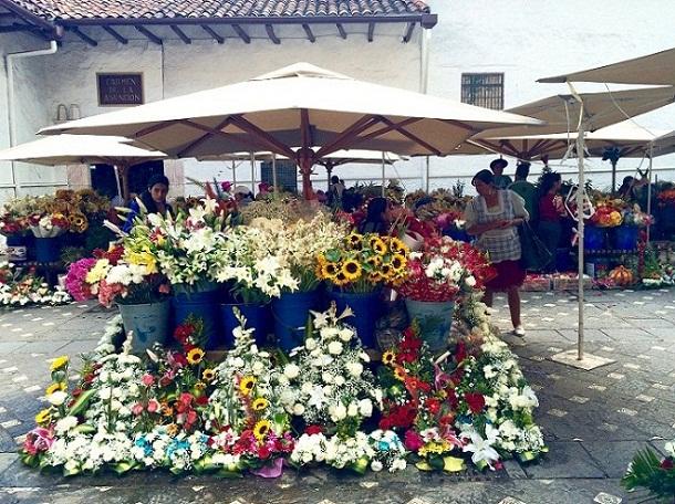 Cuenca's Flowers Market