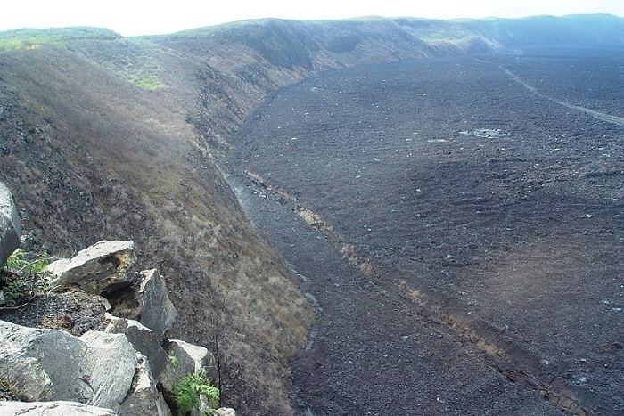 Black Sierra volcano