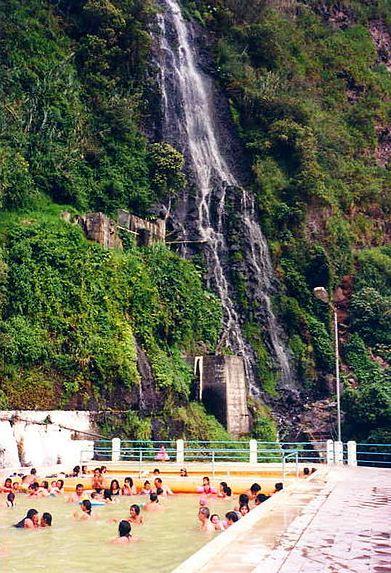 Basilica of Baños de Agua Santa (Holy Water's Baths)
