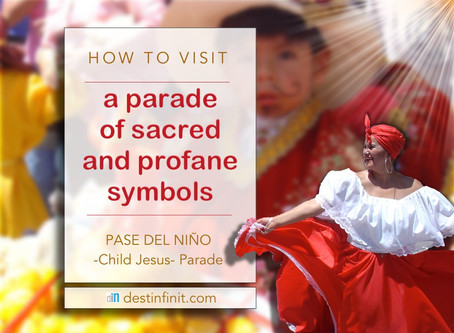 A PARADE OF SCARED AND PROFANE SYMBOLS - Pase del Niño (Child Jesus Parade)