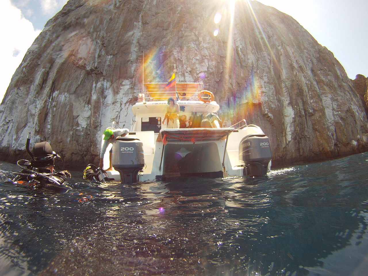 Galapagos' Kicker Rock
