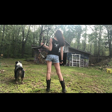 #happyhumpday from me and buck 🤘🏻😜🏹