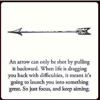 🙌🏻 stay focused...take aim, hold steady