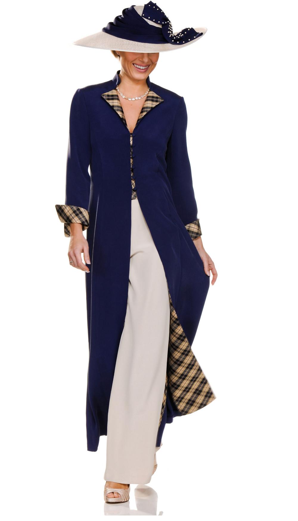 long jacket in chiffon crepe back satin fabric