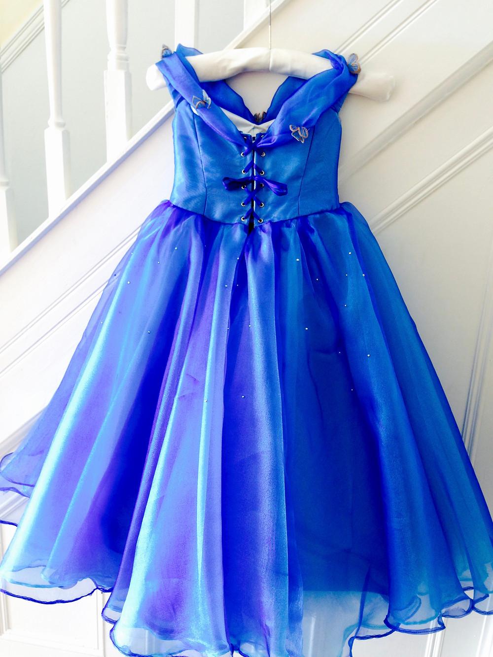 Cinderella dress back