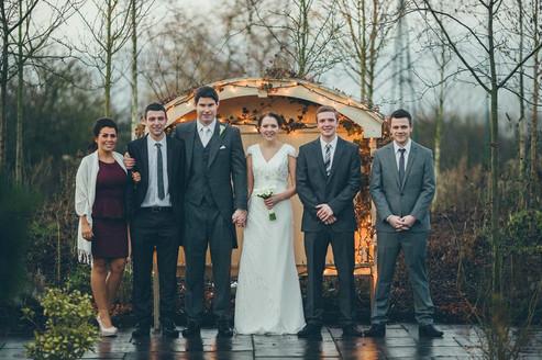 Sarah's winter wedding