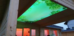 Deckenhimmel Terrasse