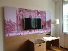 Wandbild Hotelzimmer