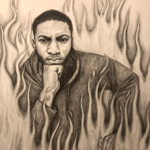 Calming the Fire-Graphite Pencil.png