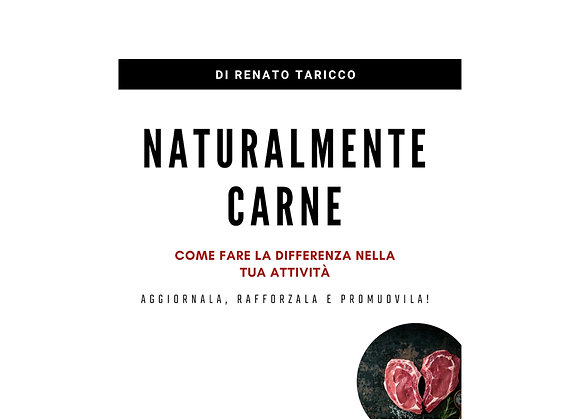 Ebook: NATURALMENTE CARNE