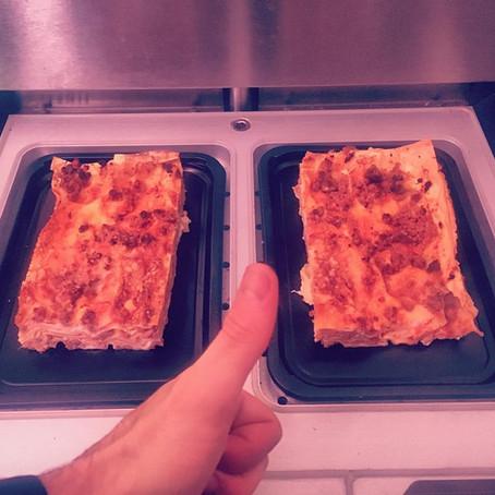 Le lasagne di Grazia: benvenuto alla festa!