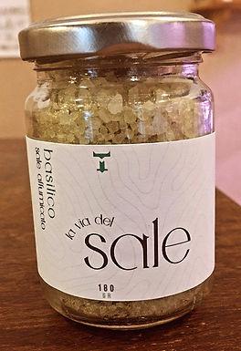 Sale affumicato e aromatizzato al BASILICO | 180gr
