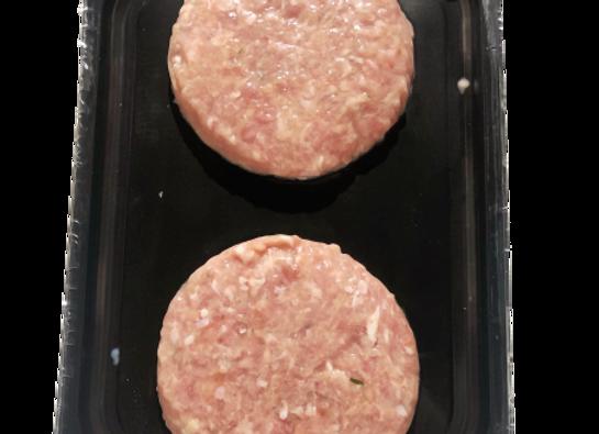 Hamburger di pollo al limone |  2x150 gr