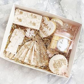 Wedding engagement treat box